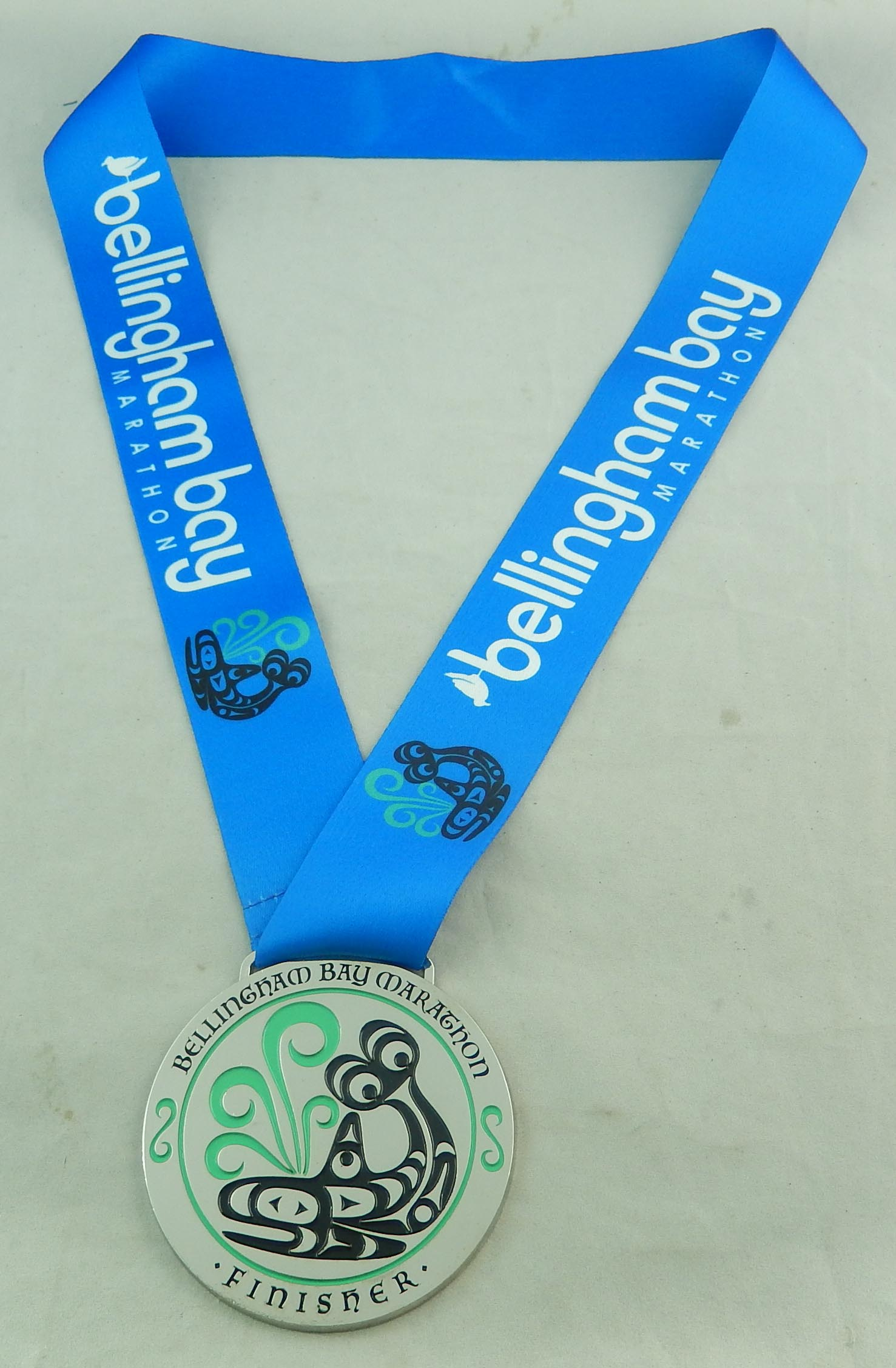 Bellingham Bay Marathon with ribbon 8-18