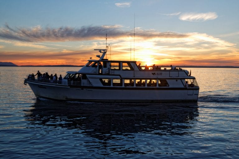 Chinook Sunset Cruise in Bellingham Bay - San Juan Cruises