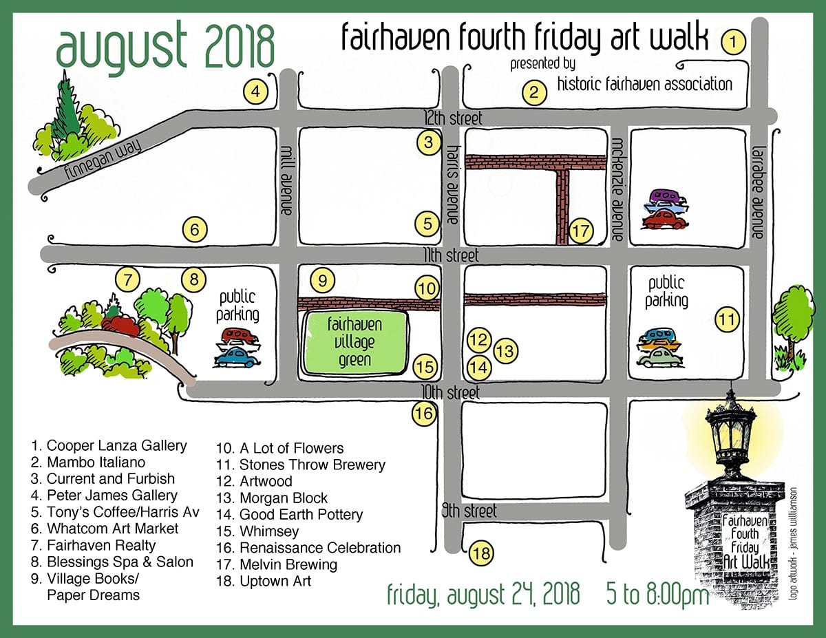 Fairhaven Fourth Friday Art Walk