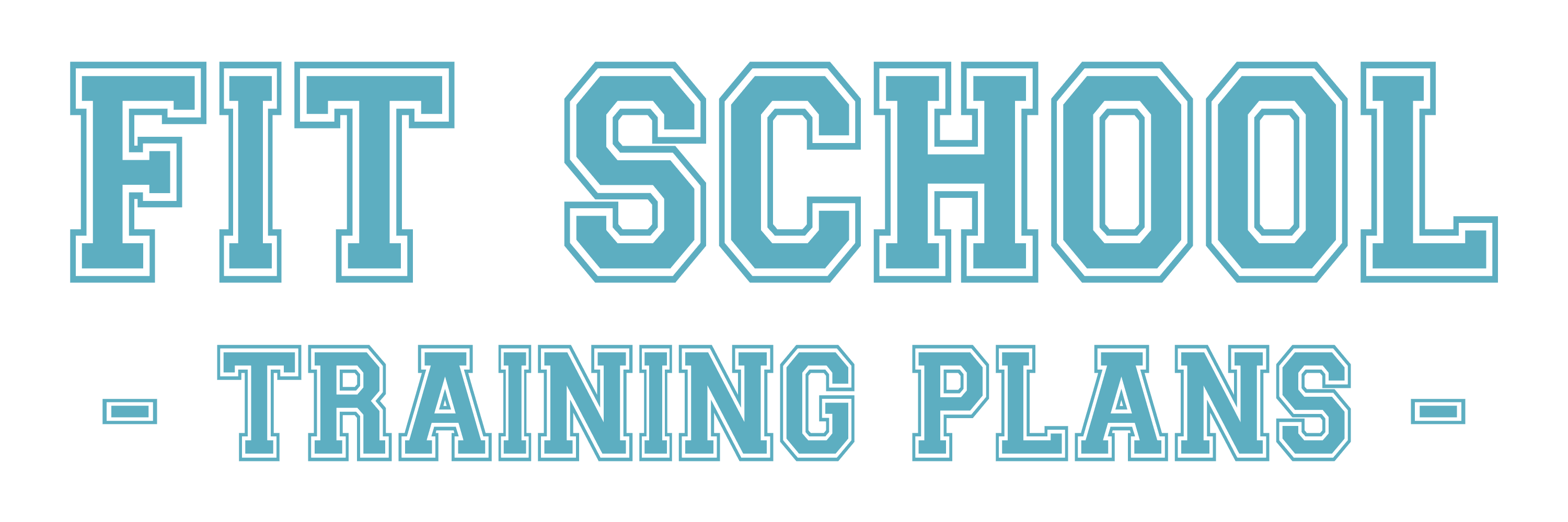 Fit School Training School Plans Logo